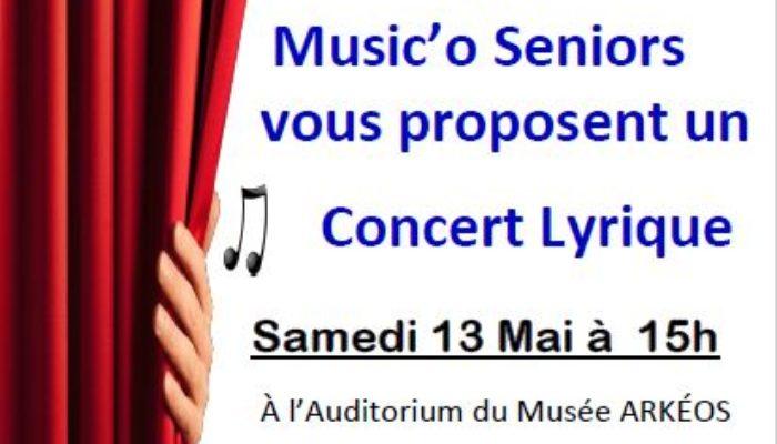 France Alzheimer Nord et Music'O Séniors – samedi 13 mai