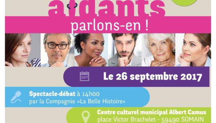 La Santé des Aidants, Parlons-En ; Somain le 26 septembre 2017
