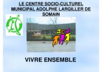 LE Centre Socio-culturel_municipal ADOLPHE LARGILLER DE SOMAIN