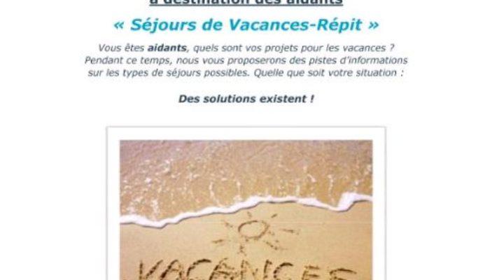 Séjours Vacances Répit