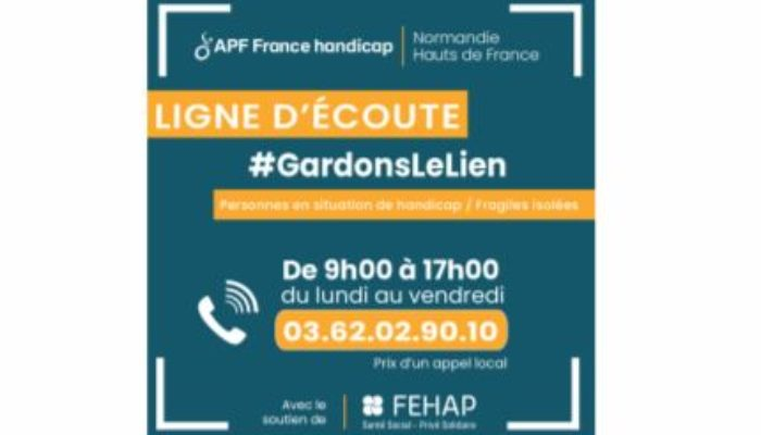 APF France Handicap Gardons le lien